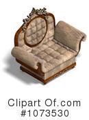 Royalty-Free (RF) Chair Clipart Illustration #1073530