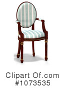 Royalty-Free (RF) Chair Clipart Illustration #1073535