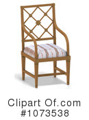 Royalty-Free (RF) Chair Clipart Illustration #1073538