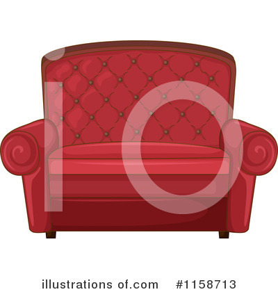 Furniture Clipart #1158713 by Graphics RF
