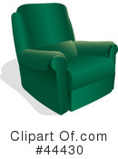 Chair Clipart #44430 by Frisko