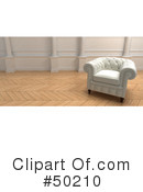Chair Clipart #50210 by Frank Boston