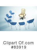 Royalty-Free (RF) Chair Clipart Illustration #83919