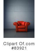 Chair Clipart #83921 by Mopic
