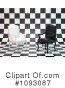 Royalty-Free (RF) chairs Clipart Illustration #1093087