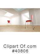 Chairs Clipart #40806 by Frank Boston
