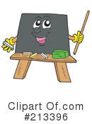 Chalk Board Clipart #213396