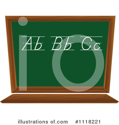 Chalkboard Clipart #1118221 by Graphics RF