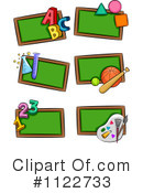 Royalty-Free (RF) chalkboard Clipart Illustration #1122733