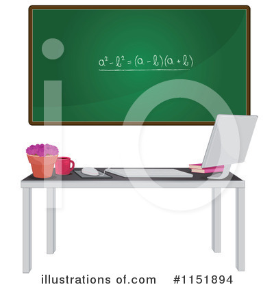 Desktop Computer Clipart #1151894 by Melisende Vector