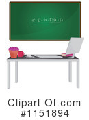 Royalty-Free (RF) Chalkboard Clipart Illustration #1151894