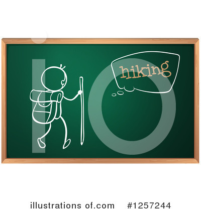 Royalty-Free (RF) Chalkboard Clipart Illustration by Graphics RF - Stock Sample #1257244