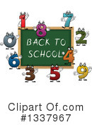 Royalty-Free (RF) Chalkboard Clipart Illustration #1337967