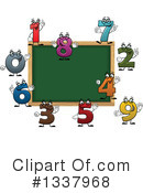 Royalty-Free (RF) Chalkboard Clipart Illustration #1337968