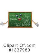 Royalty-Free (RF) Chalkboard Clipart Illustration #1337969