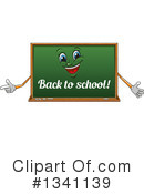Royalty-Free (RF) Chalkboard Clipart Illustration #1341139