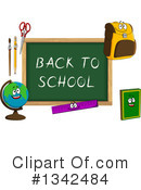 Royalty-Free (RF) Chalkboard Clipart Illustration #1342484
