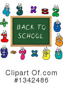 Royalty-Free (RF) Chalkboard Clipart Illustration #1342486