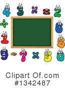Royalty-Free (RF) Chalkboard Clipart Illustration #1342487