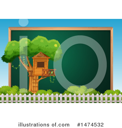 Tree House Clipart #1474532 by Graphics RF