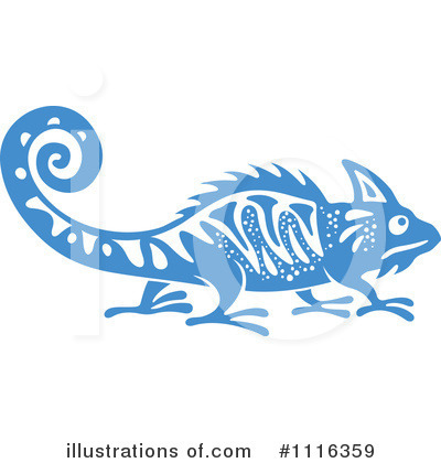 Lizard Clipart #1116359 by Vector Tradition SM