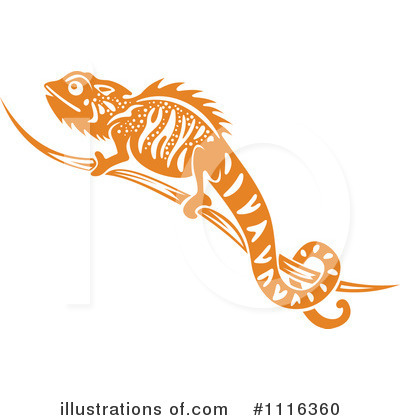 Lizard Clipart #1116360 by Vector Tradition SM