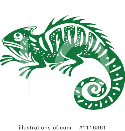 Lizard Clipart #1116361 by Vector Tradition SM