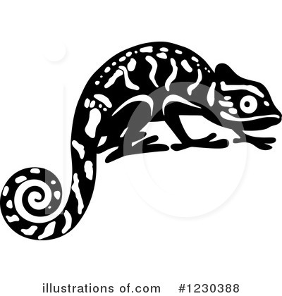 Lizard Clipart #1230388 by Vector Tradition SM
