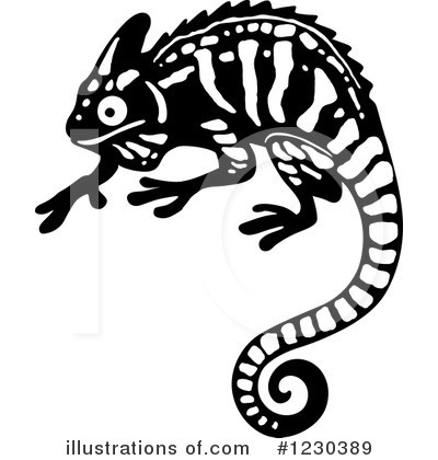 Lizard Clipart #1230389 by Vector Tradition SM