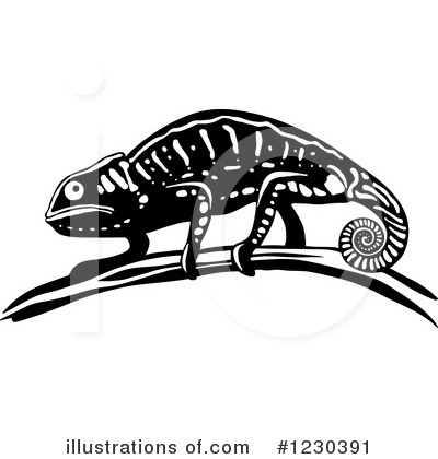 Lizard Clipart #1230391 by Vector Tradition SM