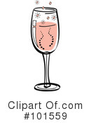 Champagne Clipart #101559 by Andy Nortnik