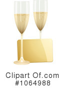 Royalty-Free (RF) Champagne Clipart Illustration #1064988