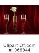 Royalty-Free (RF) Champagne Clipart Illustration #1068844