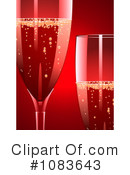 Royalty-Free (RF) Champagne Clipart Illustration #1083643