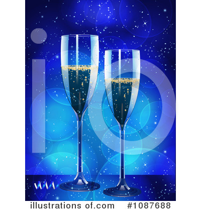 New Year Clipart #1087688 by elaineitalia