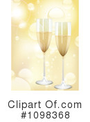 Royalty-Free (RF) Champagne Clipart Illustration #1098368