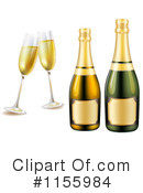 Royalty-Free (RF) Champagne Clipart Illustration #1155984