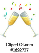 Champagne Clipart #1692727 by Vector Tradition SM