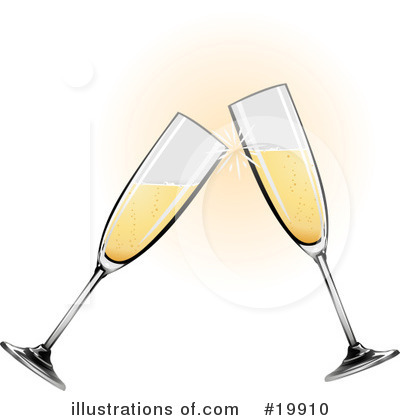 champagne glasses clipart. Champagne Clipart #19910 by