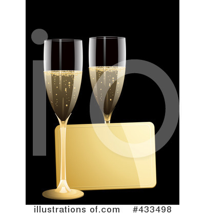 Royalty-Free (RF) Champagne Clipart Illustration by elaineitalia - Stock Sample #433498