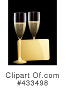 Royalty-Free (RF) champagne Clipart Illustration #433498