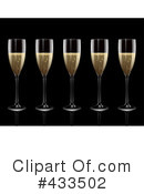 Royalty-Free (RF) Champagne Clipart Illustration #433502