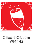 Royalty-Free (RF) Champagne Clipart Illustration #84142