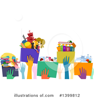 Royalty-Free (RF) Charity Clipart Illustration by BNP Design Studio - Stock Sample #1399812