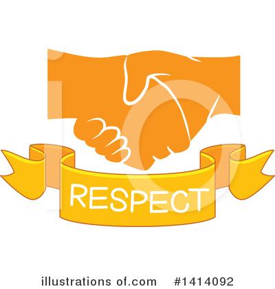Handshake Clipart #1414092 by BNP Design Studio