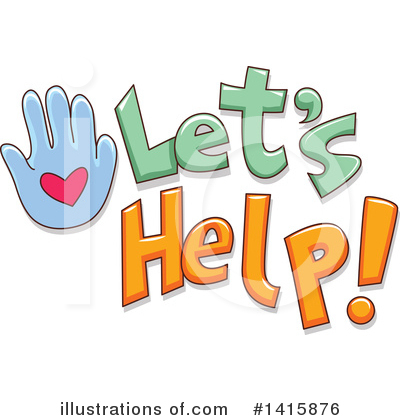 Charity Clipart #1415876 by BNP Design Studio