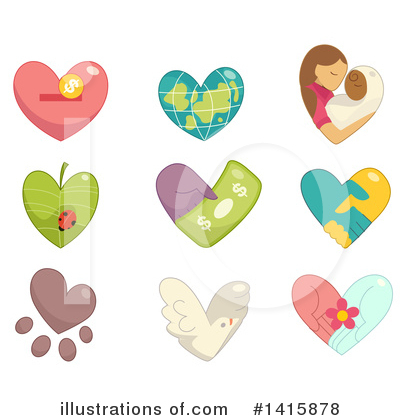 Dove Clipart #1415878 by BNP Design Studio
