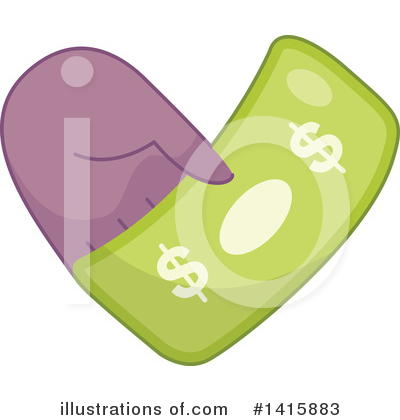 Charity Clipart #1415883 by BNP Design Studio