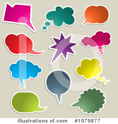 Chat Clipart #1079877 by KJ Pargeter