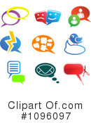 Royalty-Free (RF) chat Clipart Illustration #1096097